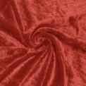 Panne de velours rouge