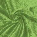 Panne de velours vert pomme  au rouleau