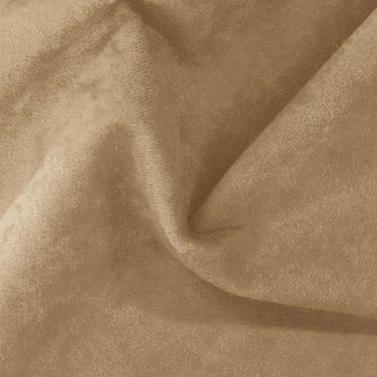 Suédine couleur camel au rouleau
