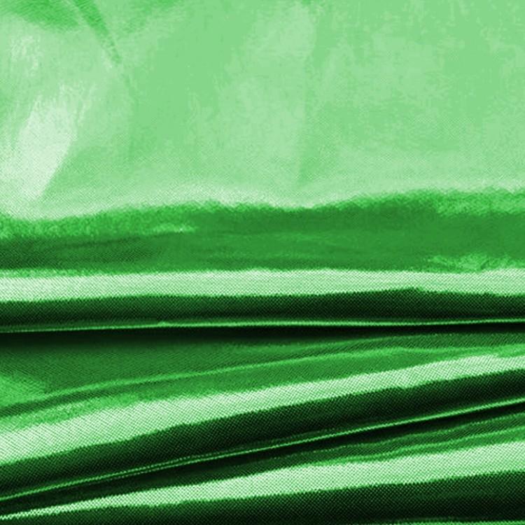 Tissu lamé vert au mètre