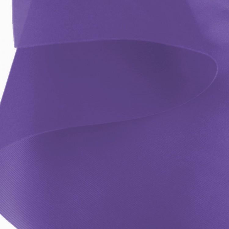 Tissu cancan aubergine au rouleau