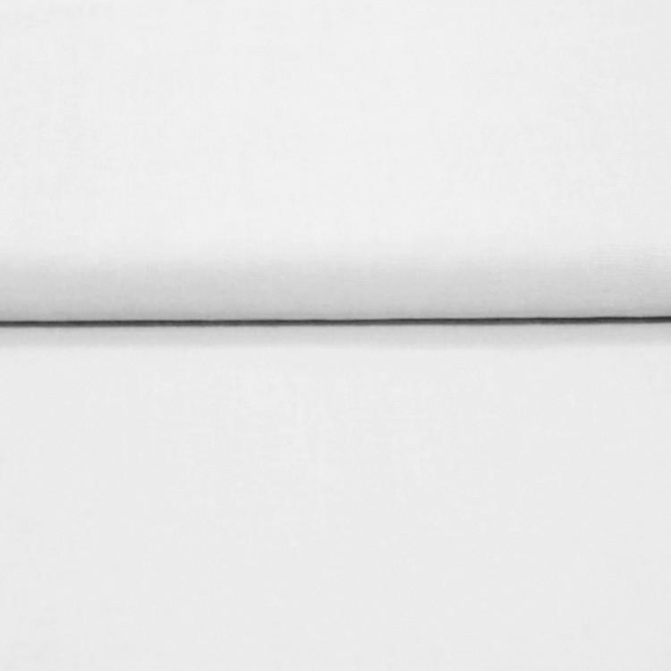 Popeline 100% coton blanc au rouleau