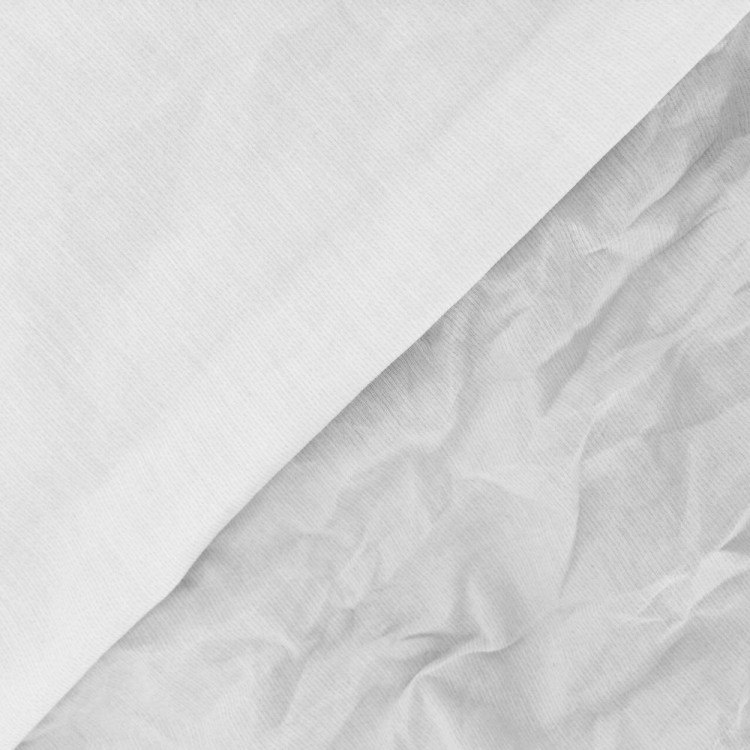Voile de coton à mémoire de forme