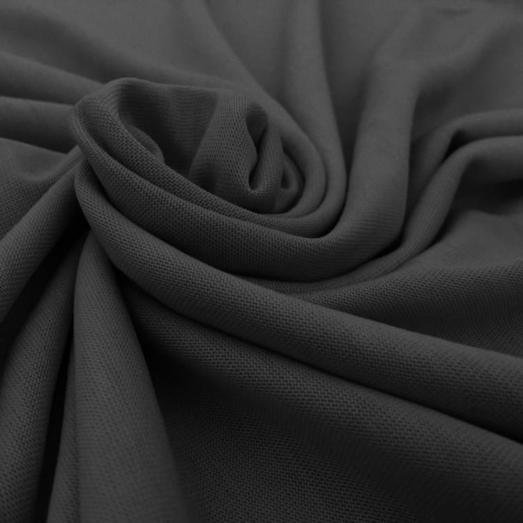 Jersey tencel noir au mètre