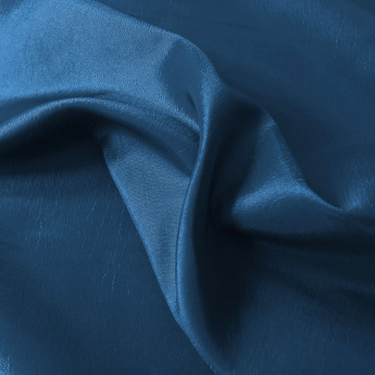 Taffetas bleu au mètre