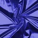 Lycra lamé bleu