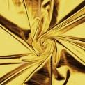 Lycra métallique lamé or