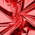 Lycra lamé lamé rouge