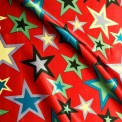 Satin carnaval étoiles