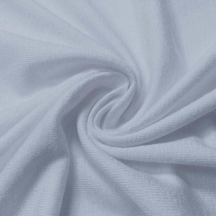 Jersey viscose gris bleu