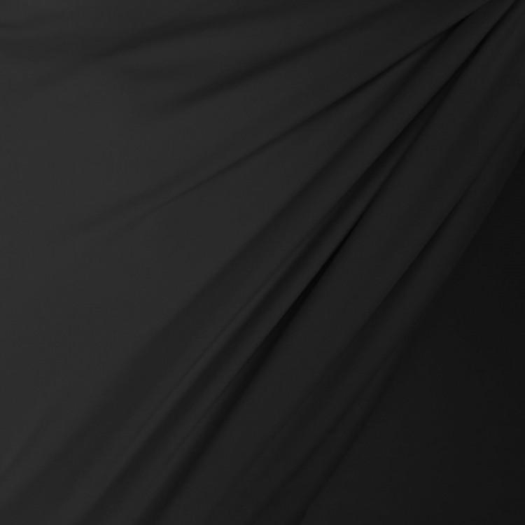 Lycra mat couleur noir au mètre