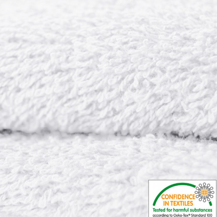 Tissu éponge blanc au mètre