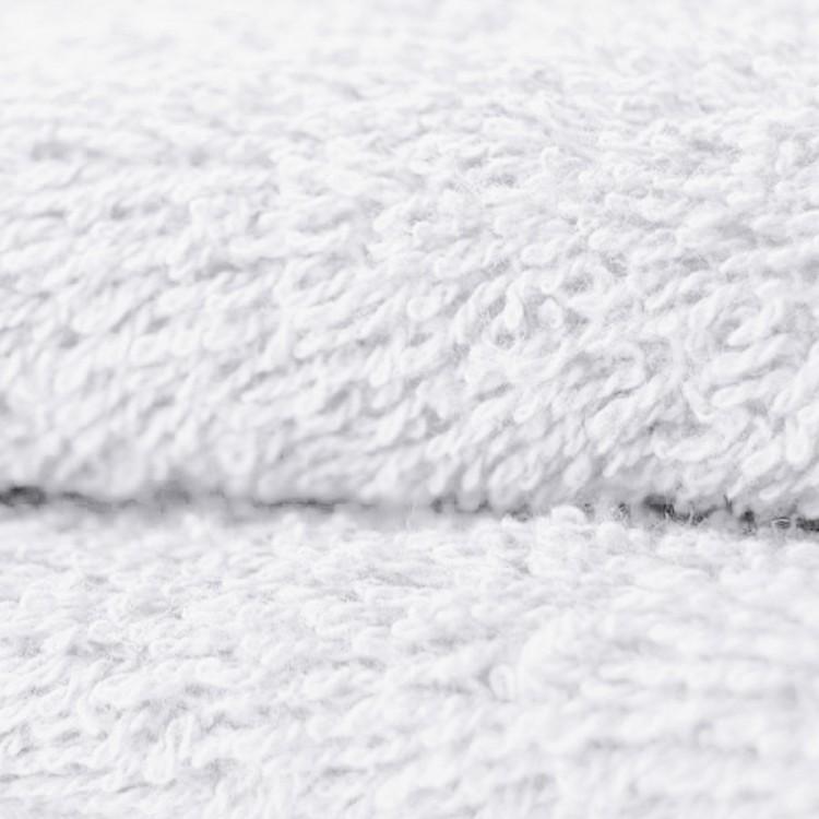 Tissu éponge coton blanche