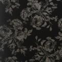 viscose print floral noir