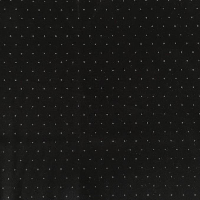 milano strech petit pois noir/gris