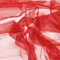 Tulle semi rigide rouge