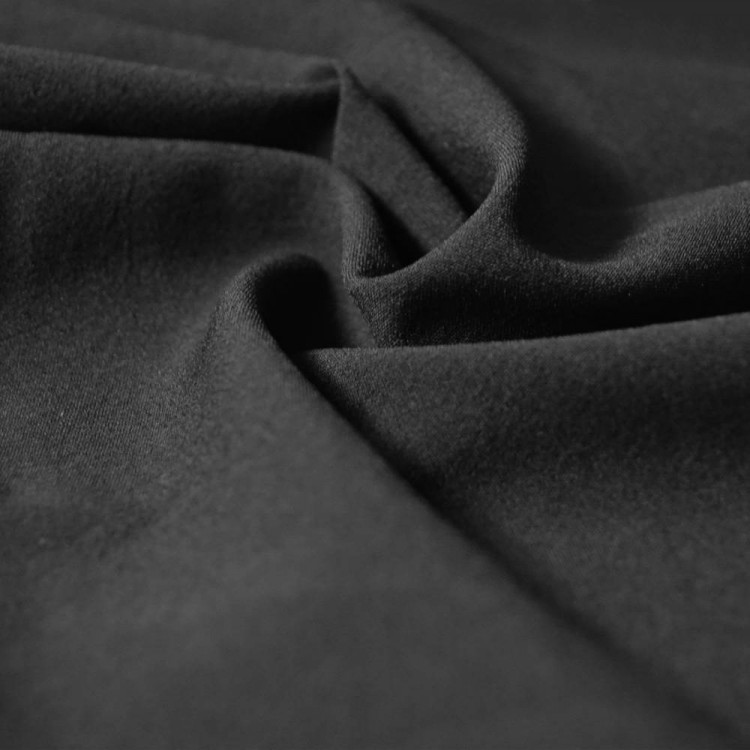toile viscose noir