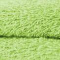 Tissu éponge coton verte