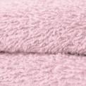 Tissu éponge coton rose