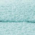 Tissu éponge coton vert d'eau