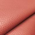 Simili cuir ameublement rouge au rouleau