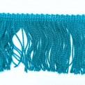Frange turquoise