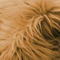 Fausse fourrure poil long savane
