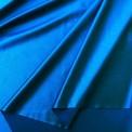 Lycra satin bleu pétrole