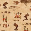 Coton imrpimé femmes africaines