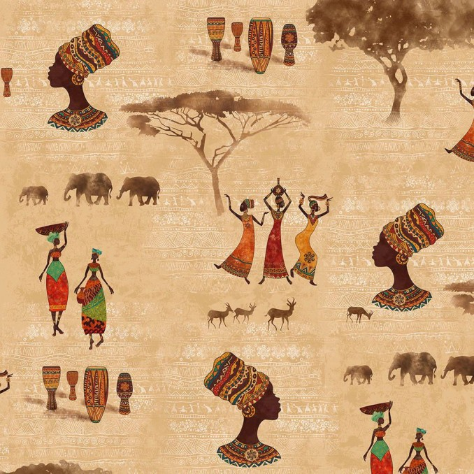 Coton imprimé femme africaines