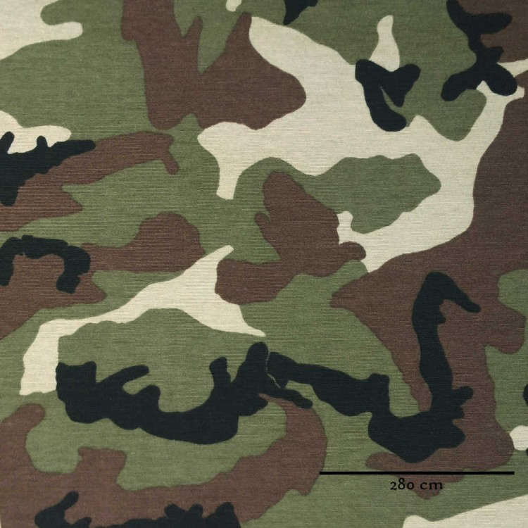 Toile grande largeur camouflage