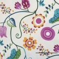 Toile grande largeur fleur acapulco
