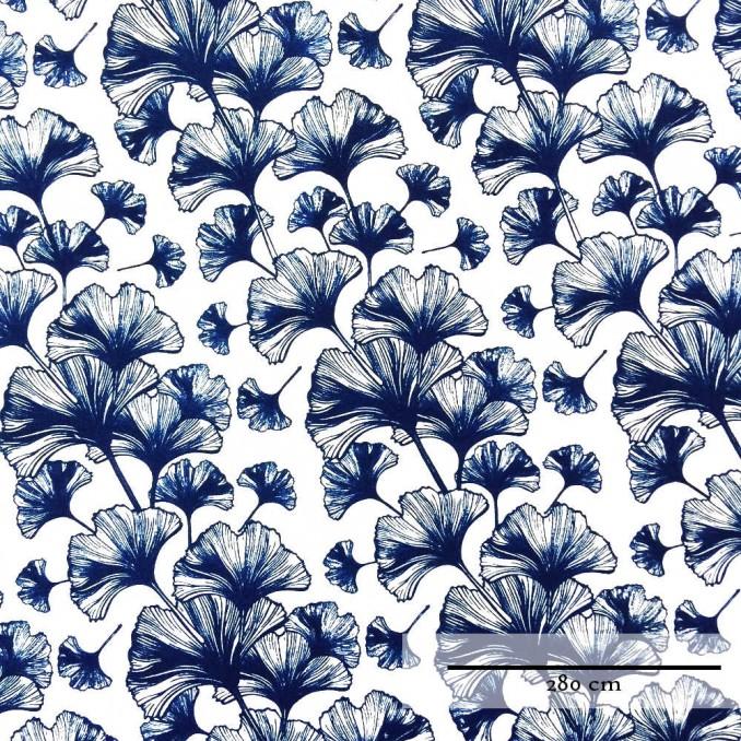 Coton grande largeur feuille japonaise