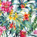 Toile d'extérieur fleurs