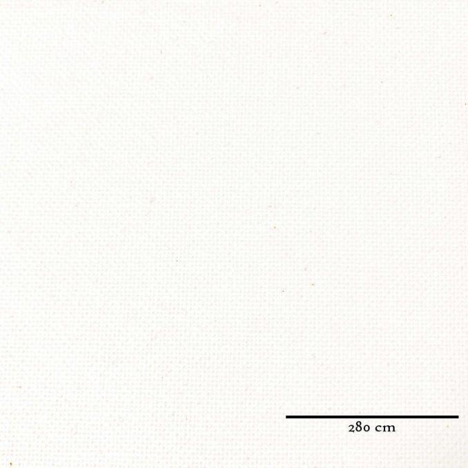 Semi natté blanc grande largeur