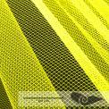 Rouleau 35 mts tulle grande largeur jaune fluo