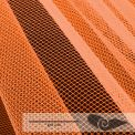 Rouleau 35 mts tulle grande largeur orange