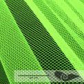 Rouleau 35 mts tulle grande largeur vert fluo