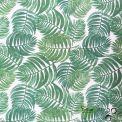 Tissu enduit Feuilles tropicales
