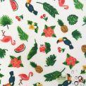 Tissu enduit Toucan