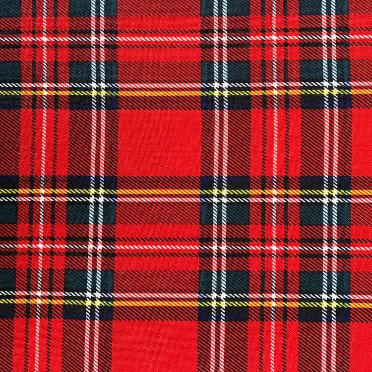 Tissu burlington écossais