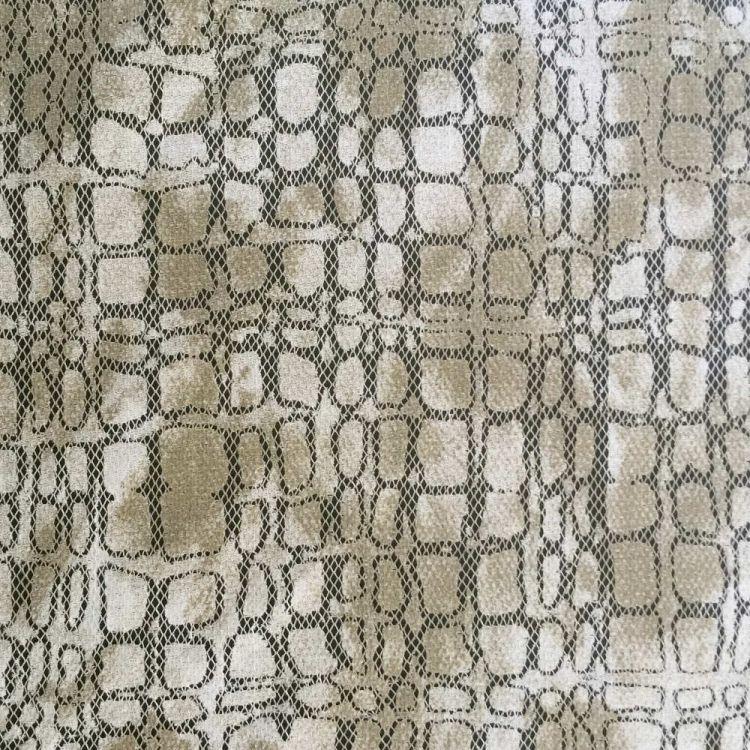 Dentelle serpent camouflage