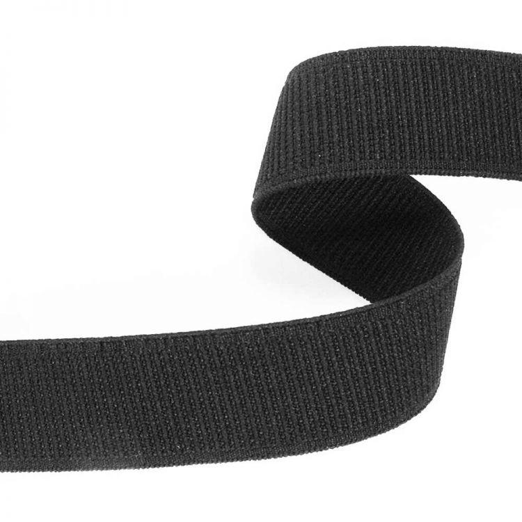 Ruban élastique noir 5 mm