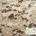 Tissu burlington camouflage désert