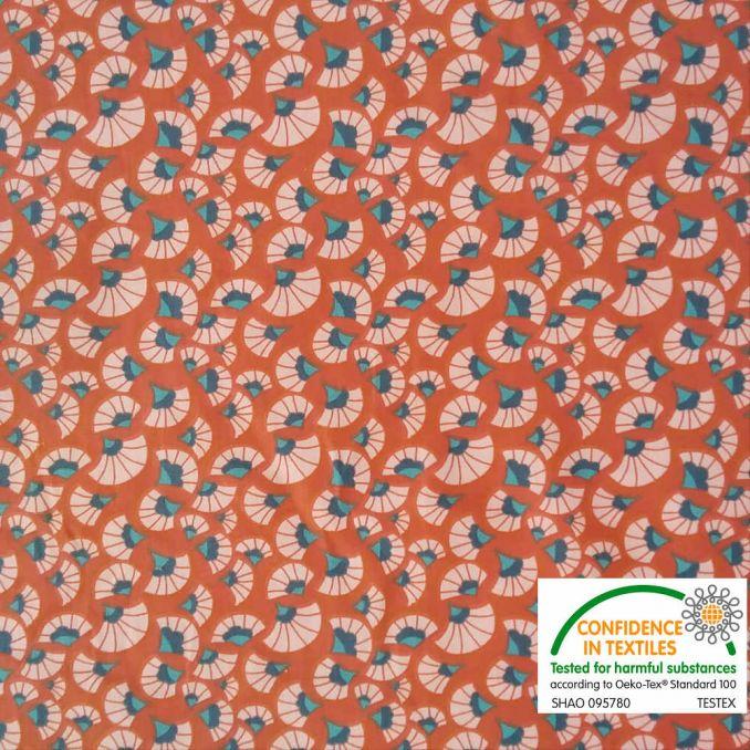Coton imprimé indien