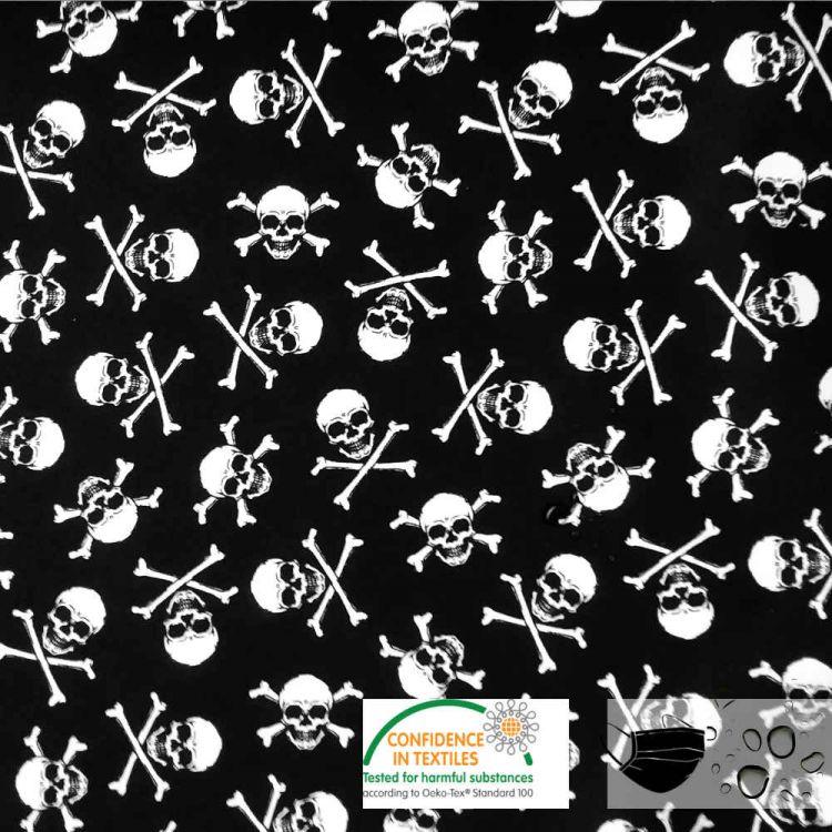 Coton pirate hydrofuge pour masques