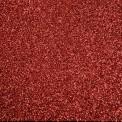 Gomme eva paillette rouge au mètre