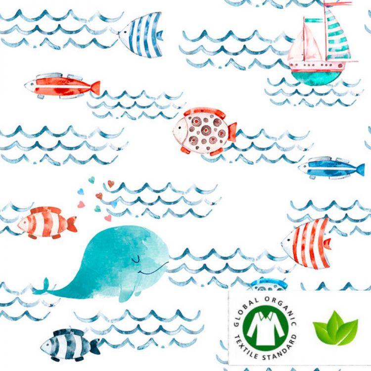 Coton BIO Mer