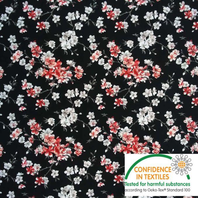 Coton Flower japonaise noir
