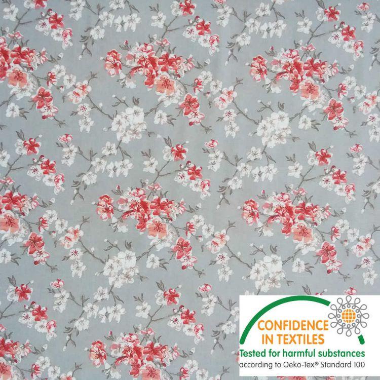 Coton Flower japonaise gris